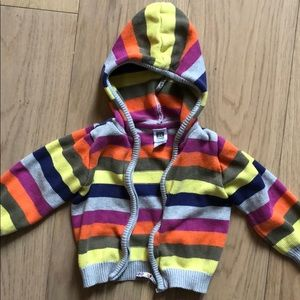 Carter's Baby Colorful Zip Up Hoodie